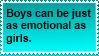 Emotional Boys stamp by nothinplz