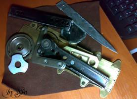 Hidden Blade details by Kudrik