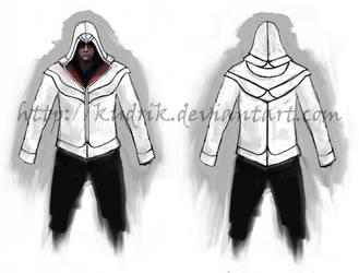 Modern Ezio hoodie by Kudrik