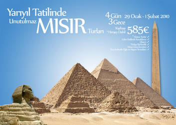 Egypt Tour Advertise by rydone
