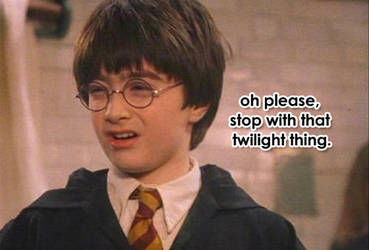 Harry Potter's got the right idea by cullen1640