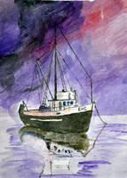 'Boat: EMC.' by mysticmadman