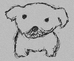 'Puppy.' by mysticmadman