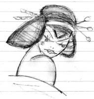 'Geisha.' by mysticmadman