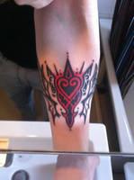 Kingdom Hearts Tattoo by Mareax