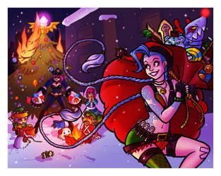 The Jinx that stole Christmas by OhSadface