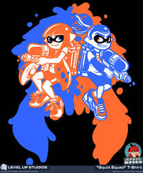 Squid Squad by OhSadface