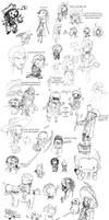 POTC AWE: sketch dump by OhSadface