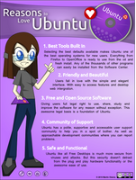 Reasons to Love Ubuntu by doctormo