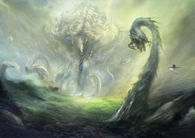 Water Colossus by cyl1981