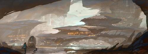 The Traveler Saga - Environment Concept arts by cyl1981