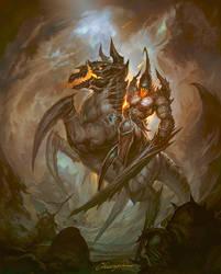 Azmodan's knight legion - Current Version by cyl1981