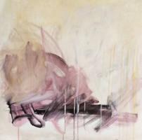 n.145 Acrylic Canvas 60x60 by MauraBertoia
