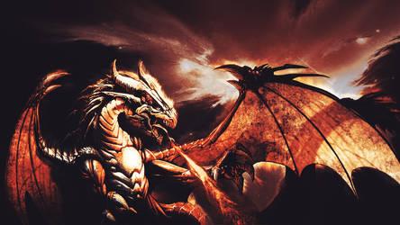 Fire Dragon by STCKZDZN
