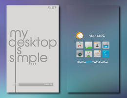 Simple Desktop by desylvia