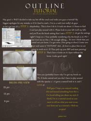 outline tutorial by sainte-fleur