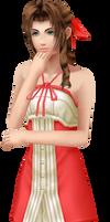 DDFF - Kingdom Hearts 2 Aerith by agl89