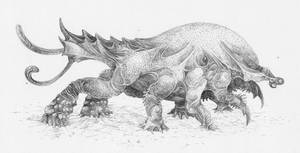 Sawback Thrax by Malicious-Monkey