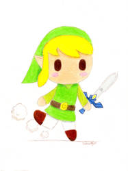 Toon Link by Snowifer