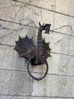 Dragon Torch Holder by codrii-vlasiei