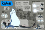 River [REFERENCE SHEET 2018] by flluksel