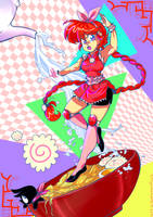 Magical Ramen Girl by BuffChan