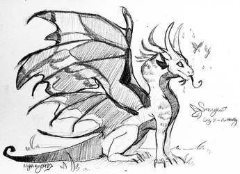 Smaugust 2018 - Butterfly  by Nightwing042