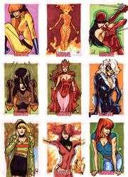 Women Of Marvel - Pt I by MahmudAsrar