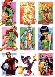 Women Of Marvel - Pt II by MahmudAsrar