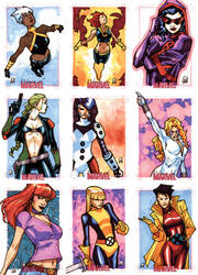 Women Of Marvel - Pt IV by MahmudAsrar