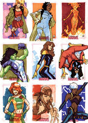 Women Of Marvel - Pt VI by MahmudAsrar