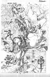 She-Hulk Cosmic Collision - P8 by MahmudAsrar