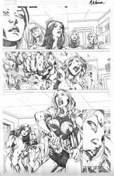 She-Hulk Cosmic Collision -P13 by MahmudAsrar