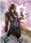 Paris Manga 2009  - Gambit by MahmudAsrar