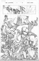 Siege: Young Avengers Page 22 by MahmudAsrar