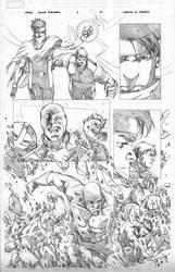 Siege: Young Avengers Page 10 by MahmudAsrar