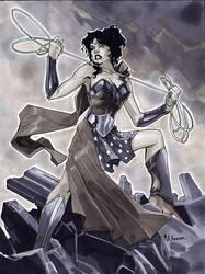 30-60-90 Wonder Woman by MahmudAsrar