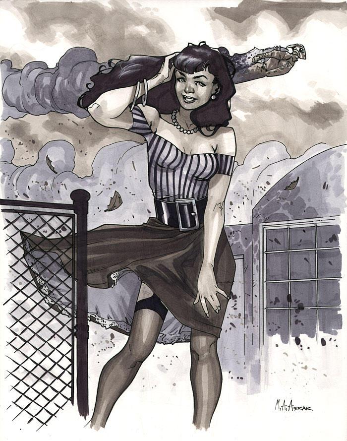 Betty Page by MahmudAsrar