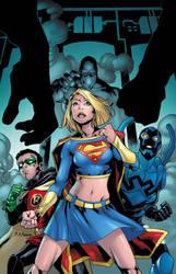 Supergirl 62 Cover by MahmudAsrar