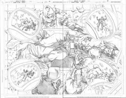 Giant Size Atom 1 - Pages 3-4 by MahmudAsrar