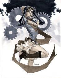NYCC 2011 Steampunk Supergirl by MahmudAsrar