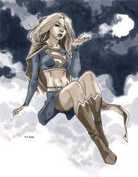 NYCC 2011 Supergirl by MahmudAsrar