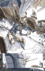 Supergirl 5 Page 12 by MahmudAsrar