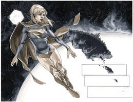 Supergirl 6 Pages 10-11 by MahmudAsrar