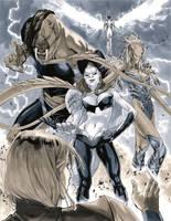 Supergirl 6 Pages 19-20 by MahmudAsrar