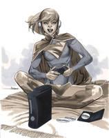 Supergirl II - Wizard World Chicago 2012 by MahmudAsrar