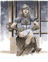Steampunk Supergirl - Wizard World Chicago 2012 by MahmudAsrar