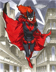 Batwoman - NYCC 2012 Pre-Show Commission by MahmudAsrar