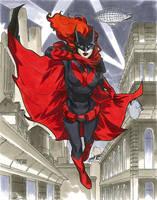Batwoman - NYCC 2012 Pre-Show Commission by MahmudAsrar