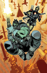 Indestructible Hulk Annual Cover by MahmudAsrar